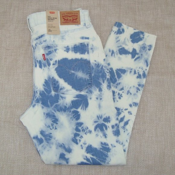 NWT Levi's 721 Hi Rise Skinny Ankle Jeans  Size 14